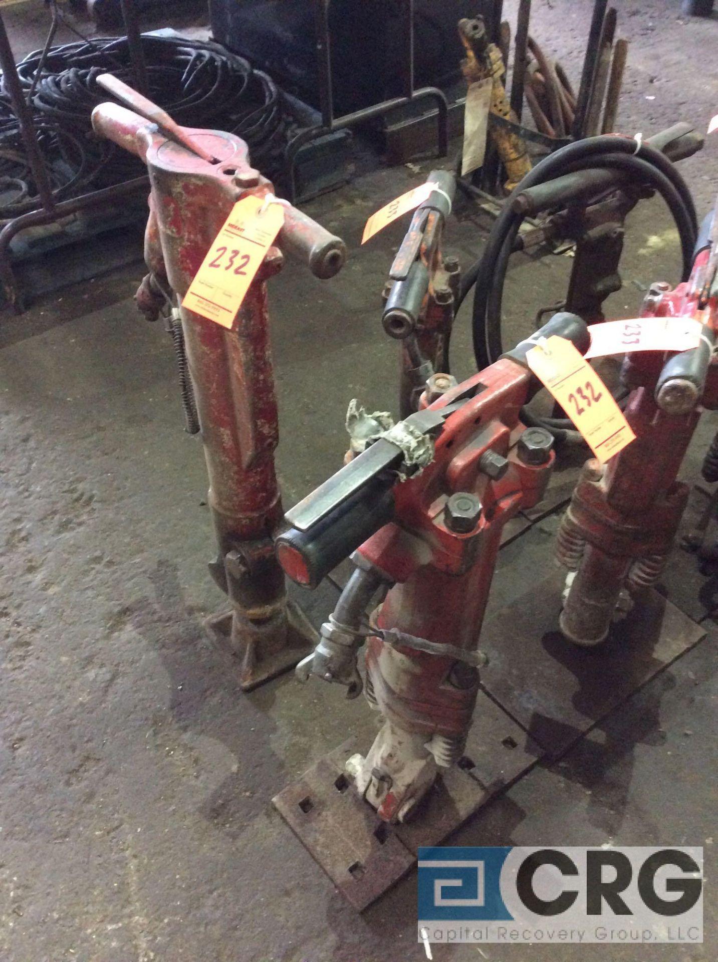 Lot 232 - Lot of (2) asst jackhammers