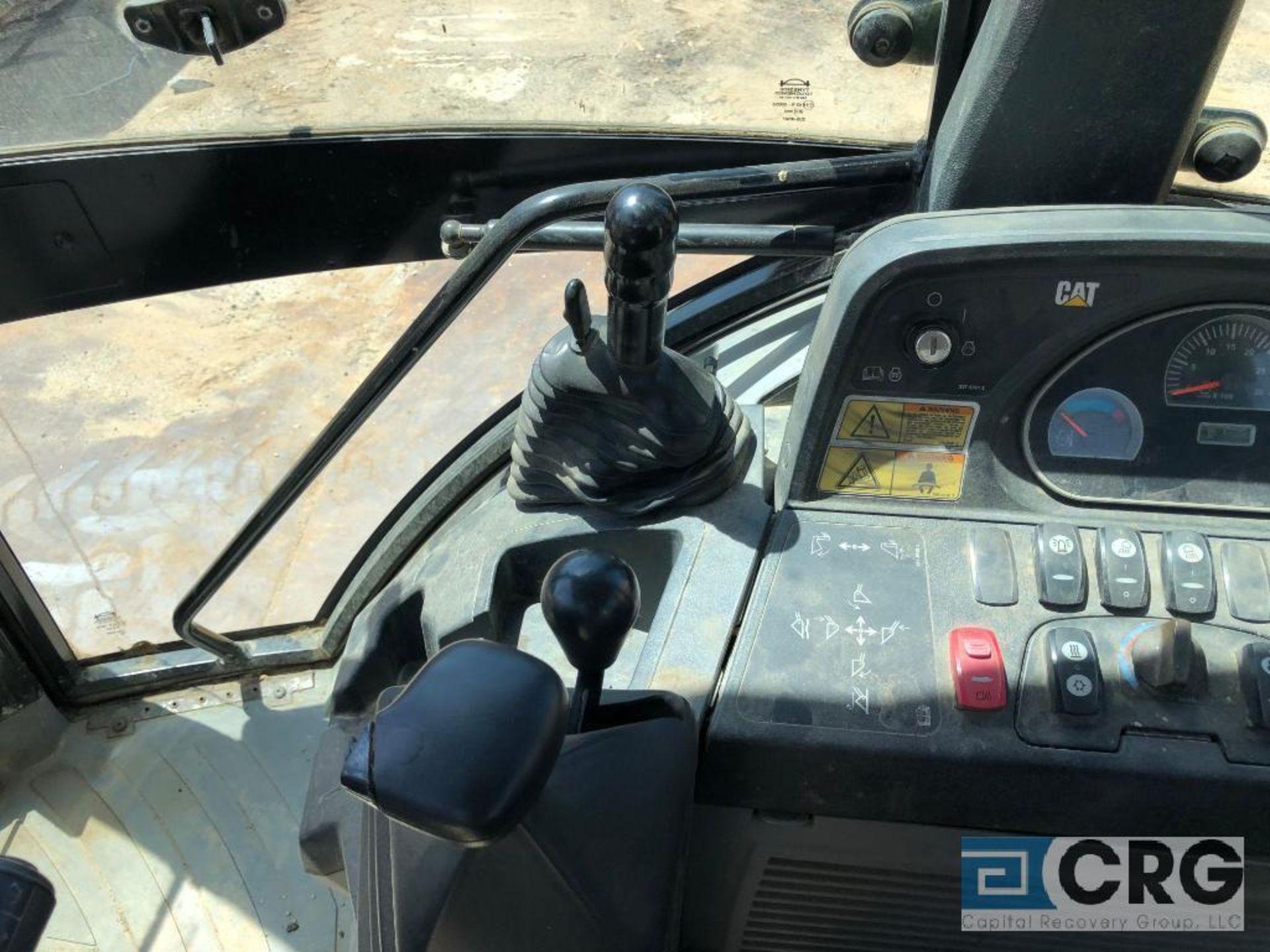Lot 304 - 2012 CAT 450E Backhoe Loader Joy Stick Controls, Ride Control, Pattern Selector, 4 in Bucket,