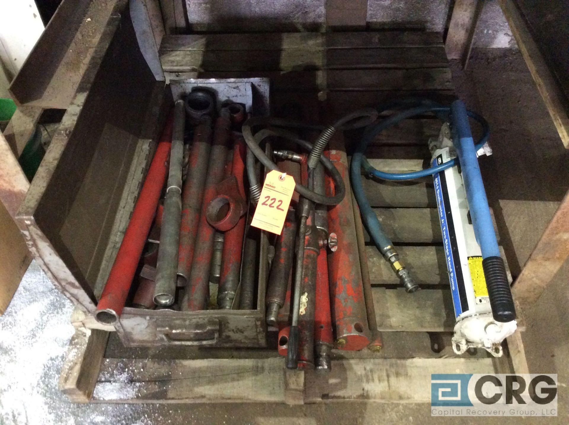 Lot 222 - Lot of asst Port-O-Power parts and accessories