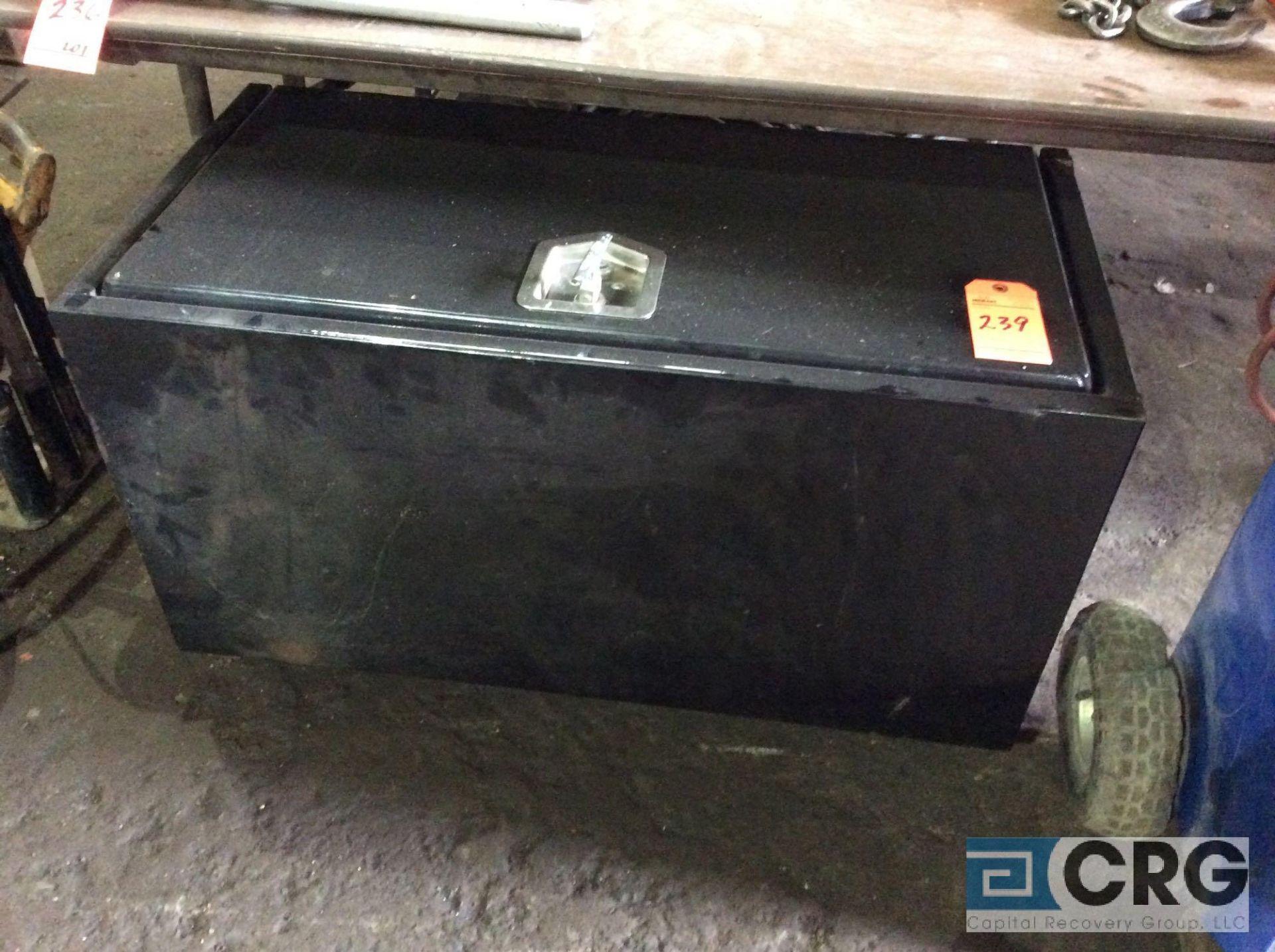 Lot 239 - 24 X 36 inch truck storage box