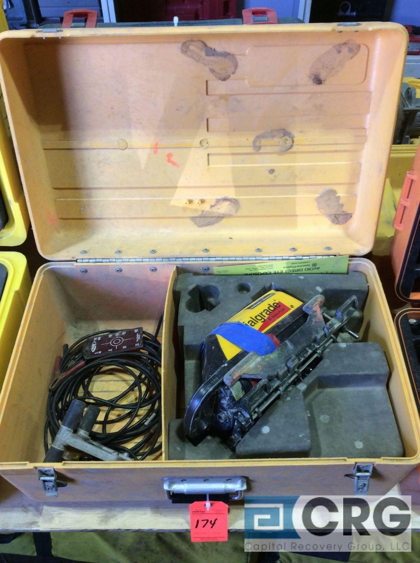 Lot 174 - Trimble DIALGRADE Spectra Precision pipe laser with case