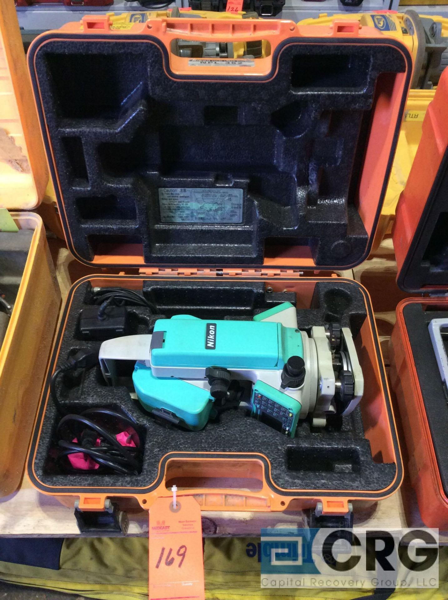 Lot 169 - Nikon NPL-352 electronic total station with case