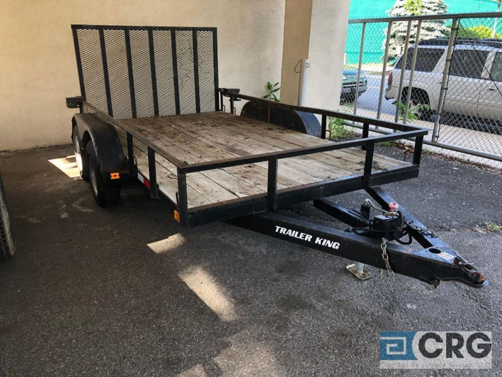 "Lot 330 - 2017 Cross Country Tandem Axle Equipment Trailer, 12' X 65"" VIN# 431FS1222H1000298"