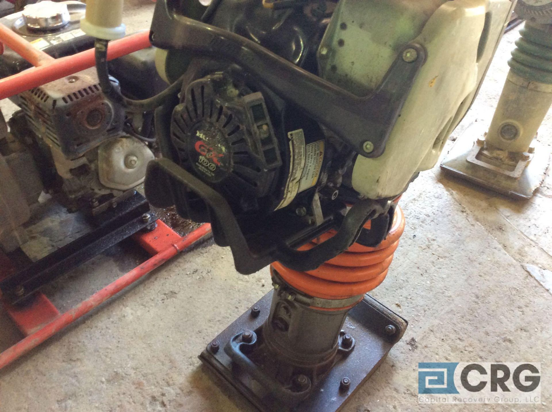 Lot 134 - MultiQuip MTX60 jumping jack tamper with Honda GX100 motor, 418 hours