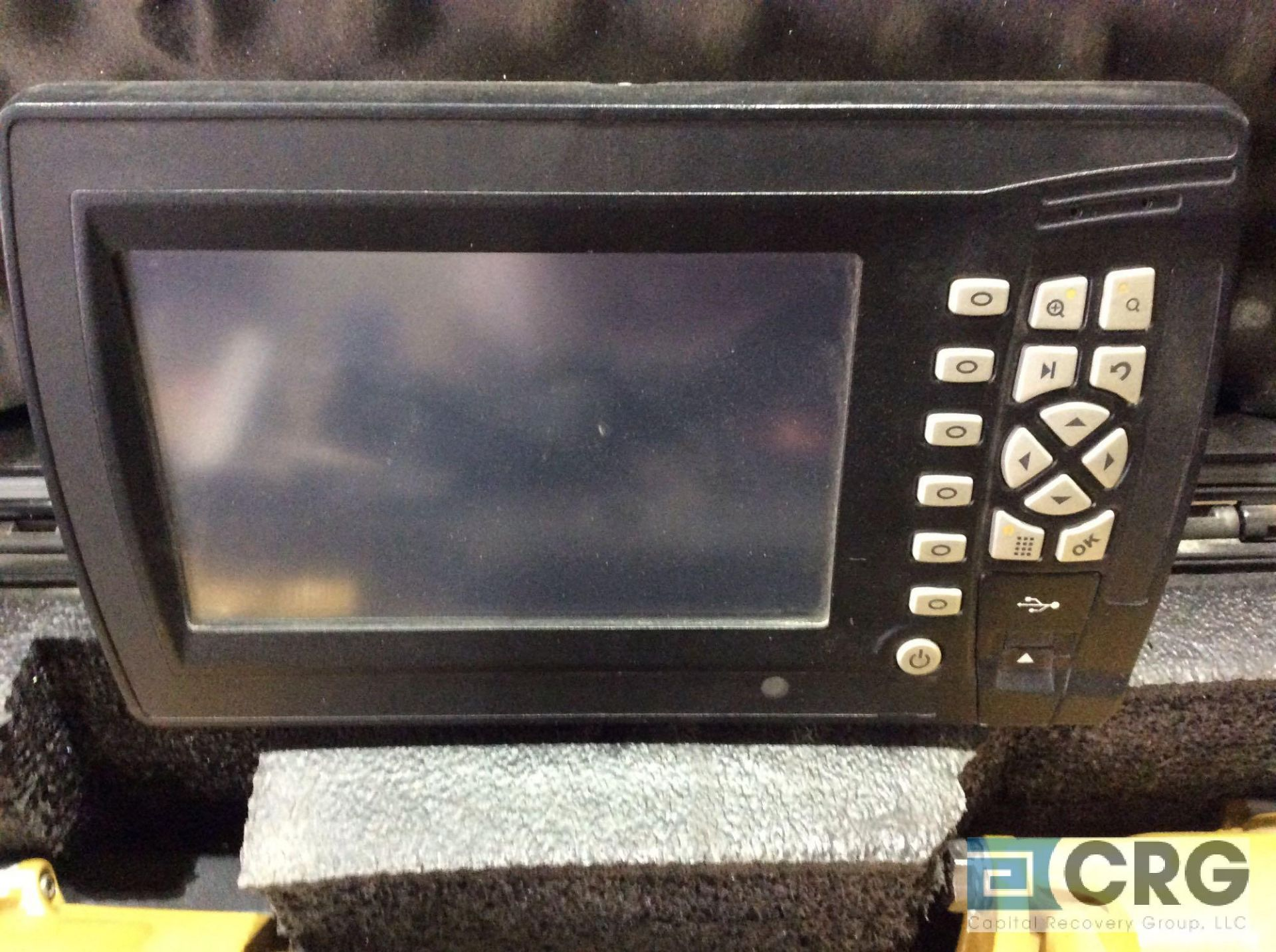 Lot 182 - Trimble GPS (2) MS 992 GNSS receivers with digital display mn CB460 with case and bulldozer software