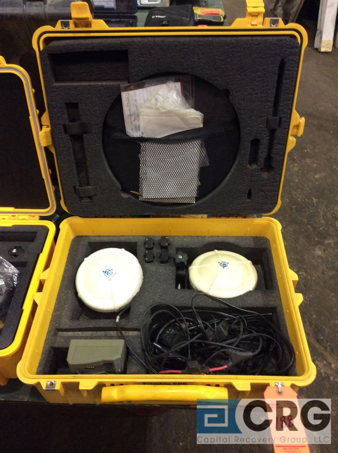 Lot 188 - (2) Trimble GPS SPS882 Rover receivers with case