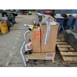 Lot of assorted Ford parts, including (5) boxes of rotor disque rotors, (3) new exhaust pipes,