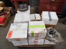 Lot of Brake rotors, Ford, Motorcraft, and NAPA, contents of (26) boxes