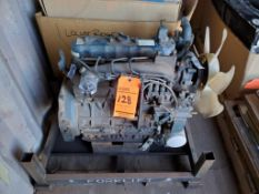 Kubota engine, m/n V2203 s/n 02J2507, 2.2L Diesel engine