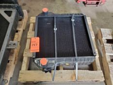 Case 580 SL backhoe radiator