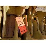Lot of (11) shank covers p/n 1U741-09