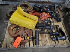 Lot of assorted parts, contents of (7) skids