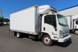 2012 Isuzu refrigerated truck