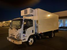 2017 Isuzu refrigerated truck