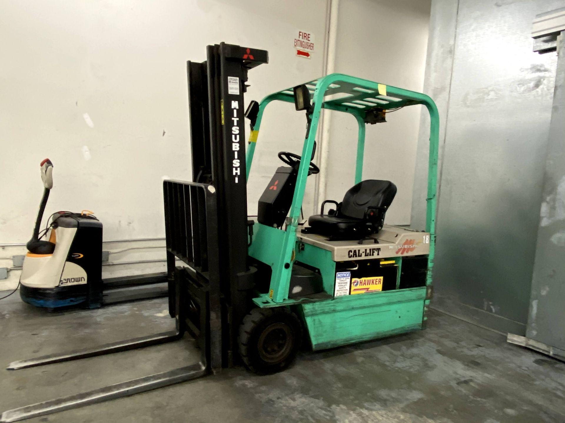 Mitsubishi Electric Forklift - Image 2 of 10