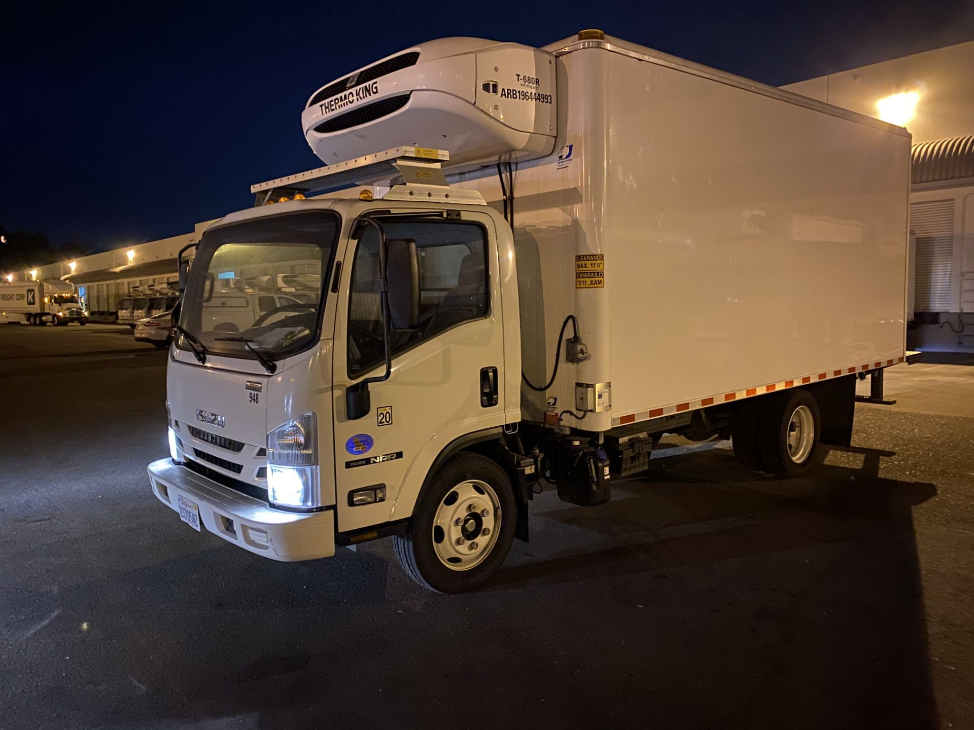 2019 Isuzu refrigerated truck