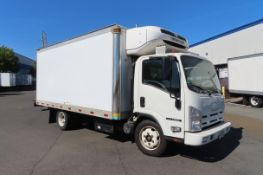 2011 Isuzu refrigerated truck