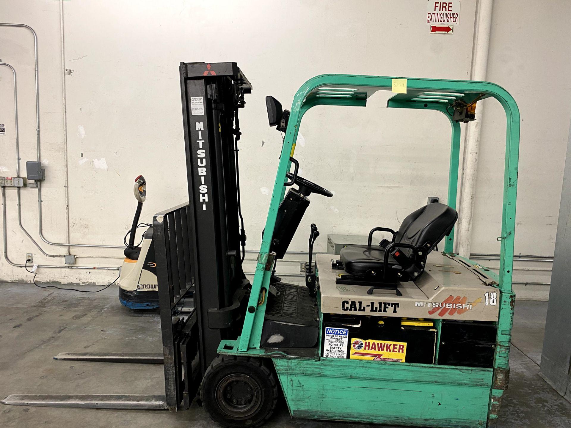 Mitsubishi Electric Forklift - Image 5 of 10