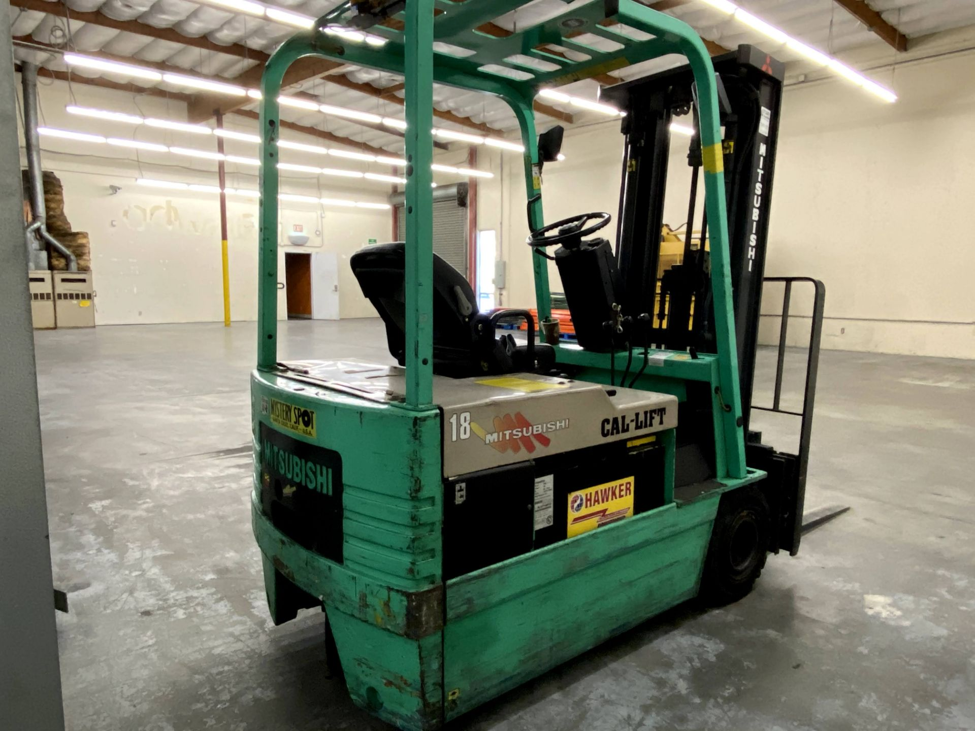 Mitsubishi Electric Forklift - Image 3 of 10