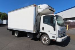 2018 Isuzu refrigerated truck