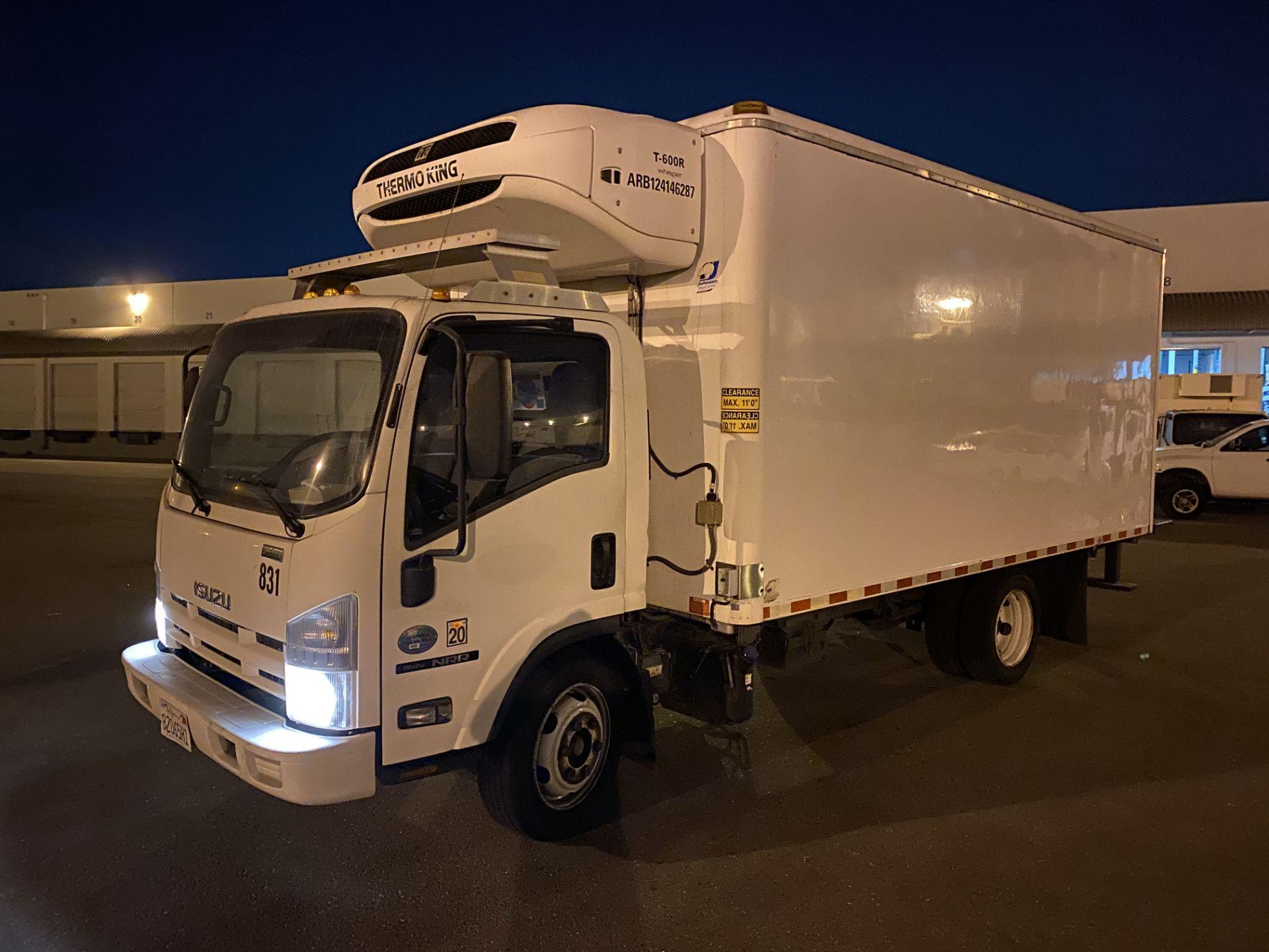 2013 Isuzu refrigerated truck