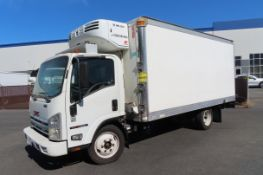 2008 GMC refrigerated truck
