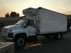 2008 GMC refrigerated truck
