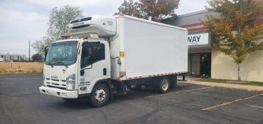 2014 Isuzu refrigerated truck