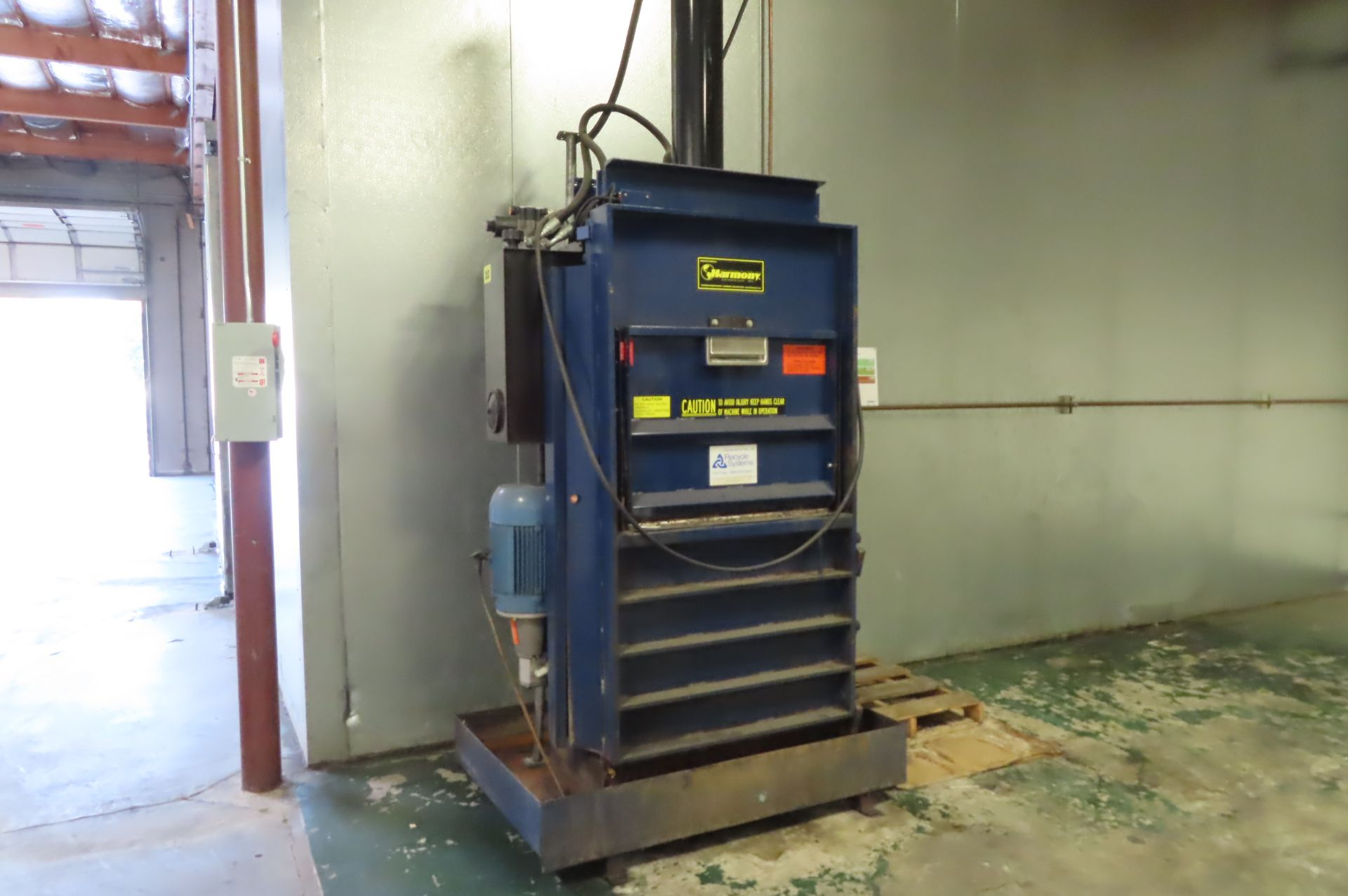Harmony Enterprises Hydraulic Baler - Image 2 of 3