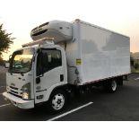 2017 Isuzu refrigerated truck