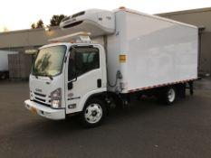 2019 Isuzu refrigerated truck