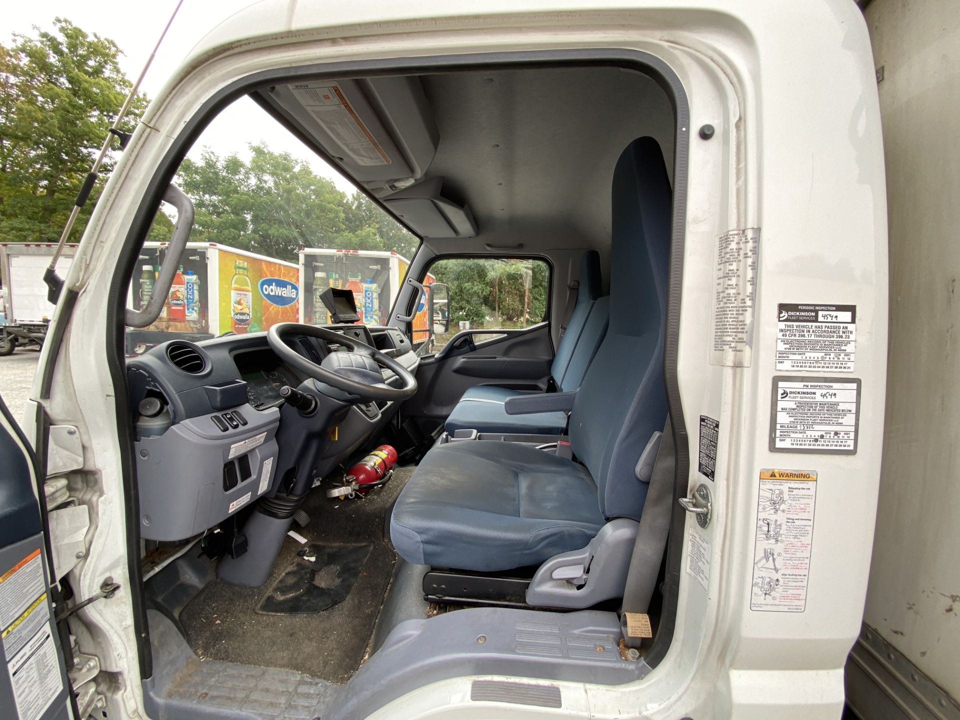 2014 Fuso refrigerated truck - Image 7 of 9