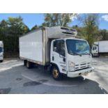 2012 Isuzu refrigerated truck
