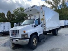 2007 GMC refrigerated truck