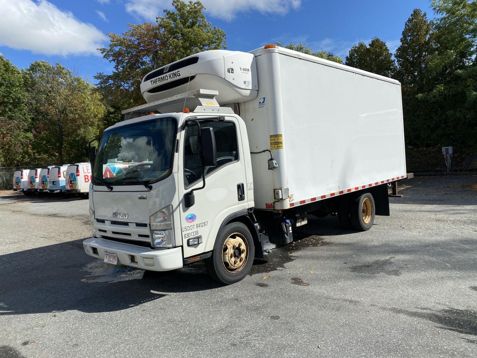 2014 Isuzu refrigerated truck - Image 2 of 9