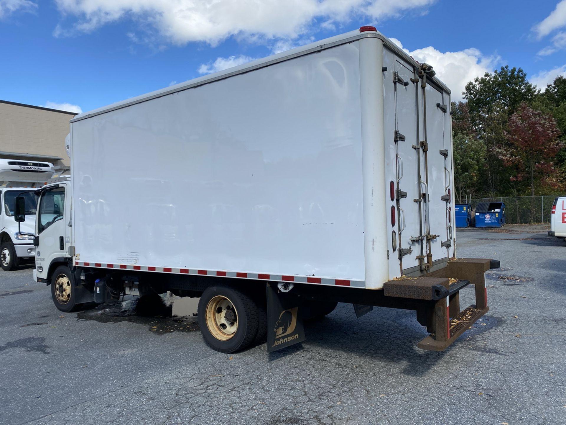 2014 Isuzu refrigerated truck - Image 3 of 9