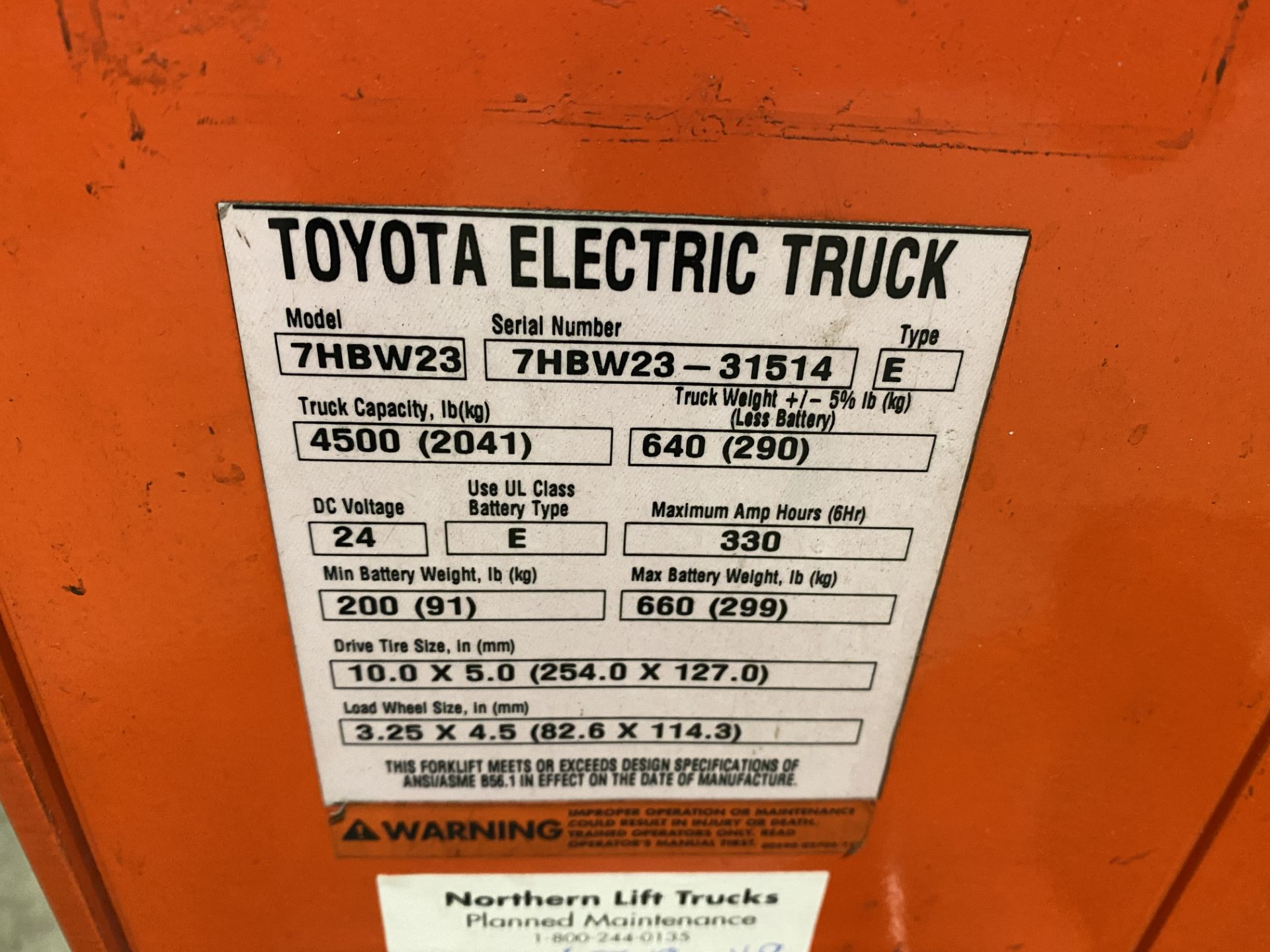 Toyota Electric Pallet Mover - Image 3 of 3