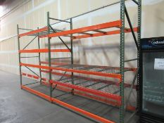 2 Sections Pallet Racking