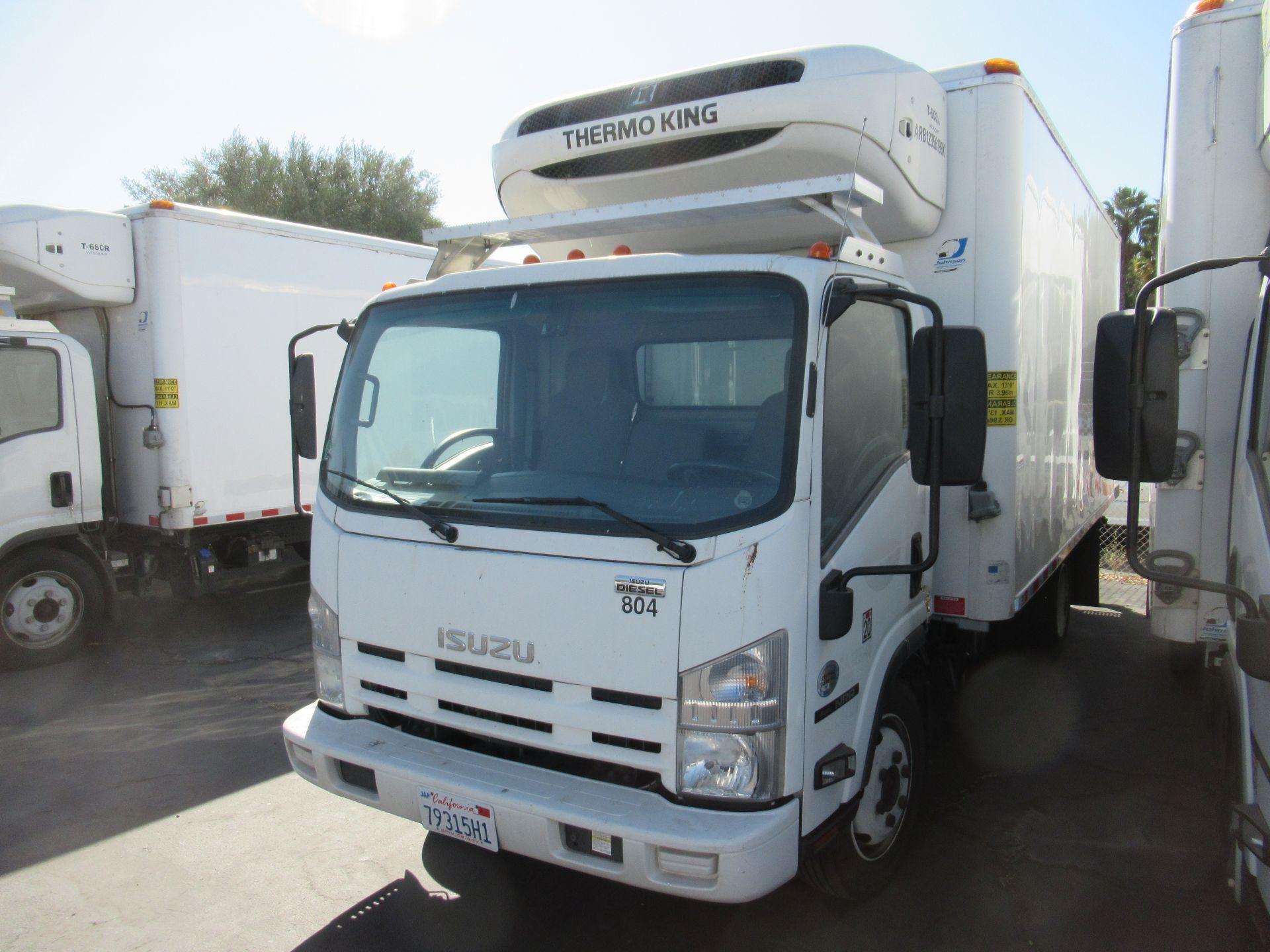 2013 Isuzu refrigerated truck - Image 3 of 10