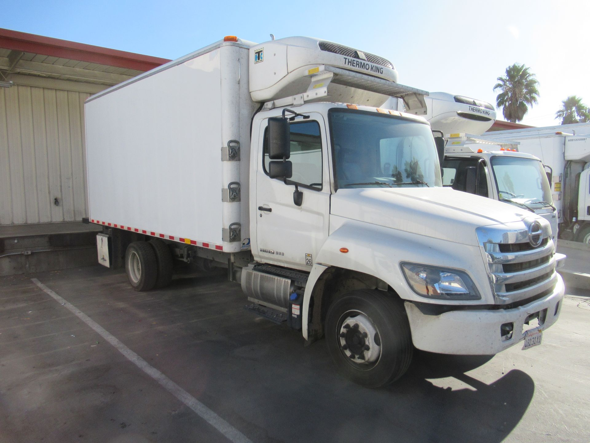 2018 Hino refrigerated truck - Image 2 of 9