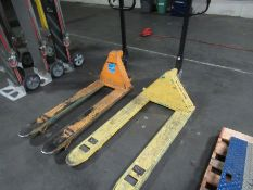Lot of (3) Pallet Jacks