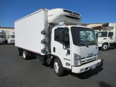 2013 Isuzu refrigerated truck