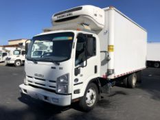 2014 Isuzu refrigerated truck