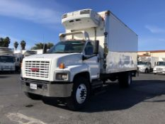 2007 GMC refrigerated truck