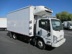 2015 Isuzu refrigerated truck