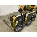 Hyster Mn. W40Z electric walk behind electric pallet jack, 4,000 lb. capacity with onboard charging
