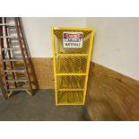 """Durham 36"""" X 36"""" X 72"""" (h) 4 tier gas scylinder safety cage cabinet"""