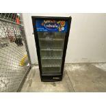 """True Mn. GDM12-LD single glass door lighted refrigerated merchandiser, 20"""" (w) X 18"""" (d) X 42"""" (h)"""