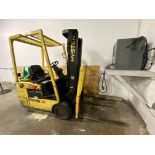 """Hyster Mn. J30XMT-17 Solid tire electric forklift, 2,750# capacity, 177"""" mast with side shift, 4,069"""