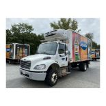 2015 Freightliner M2 16' refrigerated truck, 25500 GVW, 192268 Miles, VIN# 1FVACWDU5FHGN4747, with